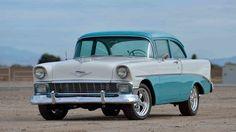 Chevy Classic, Classic Cars, Family Cars, American Racing, Chevrolet Bel Air, Car Stuff, Beautiful Sunset, Drag Racing, Hot Cars