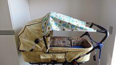 Helenes DIY: Solskærm til barnevogn