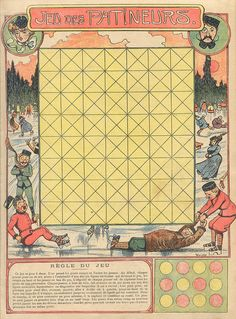 Game Boards, Board Games, Vintage Games, Sports Games, Tabletop Games, Vintage Ephemera, Fun Games, Vintage Advertisements, French Vintage