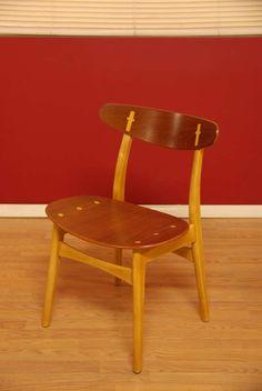 Hans J. Wegner; #CH-30 Teak Dining Chairs for Carl Hansen, 1950s.