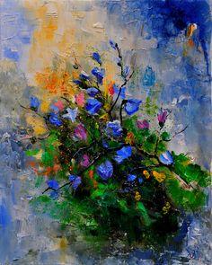 """""""bouquet bleu"""" de Pol Ledent"""