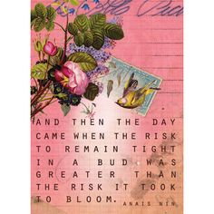 Anais Nin. Have this exact item hanging in my home...from papaya art.com