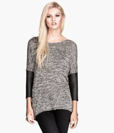 I just love the the hint of black on this sweater | H&M US