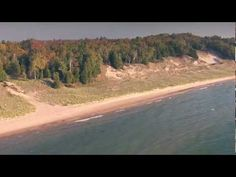 Hop aboard for a scenic aerial tour of Door County, Wisconsin in this aerial highlight video of one of the Midwest's most popular travel destinations. See be. Door County Wisconsin, County Park, Rock Island, Island Beach, Washington Island, Top Destinations, Lake Michigan, Travel Usa, State Parks