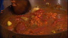 Lækker suppe med linser og kikærter