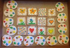 Little Artist Cutout Cookies