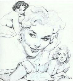 Drawings by Al Buell