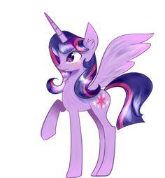 Twilight Sparkle as an Alicorn | Image - Alicorn Twilight Sparkle by artist-joshydesu.png - My Little ...