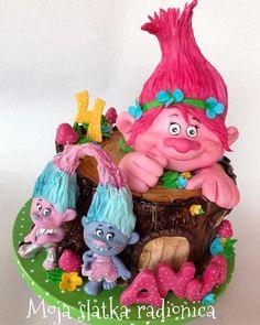 Trolls cake - cake by Branka Vukcevic