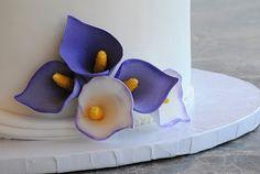 Calla Lilies Wedding Cake |My FaVoriTe CaKe PlaCe