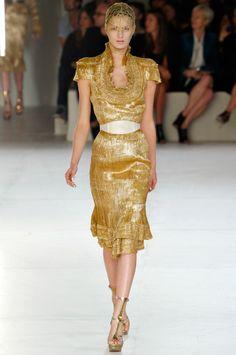 Stunning gold McQueen