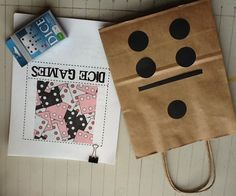 Very inexpensive gift idea. Print dice games from pitnerm.blogspot.com  buy dice and make the bag.  Just add tissue and a bow.