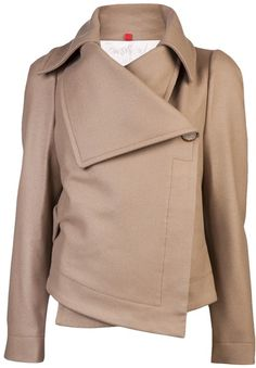 Vivienne Westwood Red Label Beige Classic Short Coat