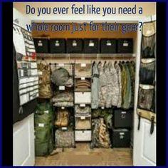 A way to organize gear