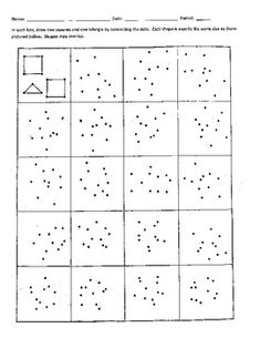 Easy and Fun! Develop visual and spatial skills by connecting the dots in each box to find two squares and one triangle. One of my students' favorite activities. Occupational Therapy Activities, Preschool Activities, Free Printable Puzzles, Brain Teasers For Kids, Vision Therapy, Connect The Dots, Common Core Math, Dots Design, Kids Education