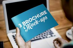 3free print brochure mock-upphotoshop templates from H_M. Download full item here! With this freebie you get: 3Photoshop *.psd mock-up templates very easy to customize and edit in Adobe Photosho...