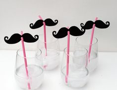 Custom Listing for brendamcna  6 Mustache and by LittleRetreats
