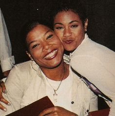 Queen Latifah and Jada Pinkett Smith Queen Latifah, New Jack Swing, Lisa, Jada Pinkett Smith, Hip Hop Rap, Vintage Glamour, Powerful Women, Reggae, Black History