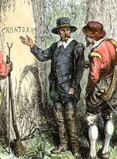 Lost Colony of Roanoke: How People Vanished? | To be, Trees and ...