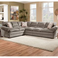 Miranda Shale 2pc Sectional - Bernie And Phyls--$999.00