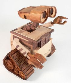 Wall-E Wood