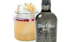BLUE CHAIR BAY FALL SNAP 1 bottle Blue Chair Bay Coconut Spiced Rum 8 oz. fresh lemon juice 18 oz. Pear nectar 15 oz. ginger ale Sliced pears for garnish Cranberries for garnish DIRECTIONS  Put all ingredients into punch bowl.  Then add block ice and stir well to chill and dilute.  Garnish with fruit if desired.