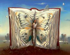 Book of Books   by  Vladimir  Kush