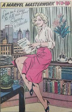 Sue Storm circa 1982