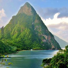 St Lucia - One of the most beautiful islands in the Caribbean Jazz Art, Beautiful Islands, All Over The World, Places Ive Been, Caribbean, Most Beautiful, To Go, Messages, Memories