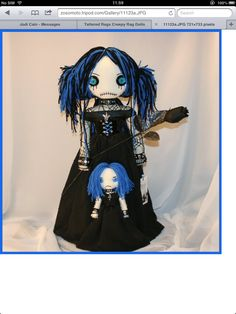 My officially new #favourite #doll! An idea for my next #tattoo and to add to my collection