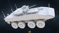 ArtStation - Russian Army Armored Personnel Carrier K-17 Bumerang , Stanislav Boldienkov