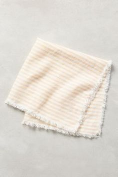 Discover unique cloth napkins to impress your guests and other decorative table linens at Anthropologie, including the seasons newest arrivals. Kitchen Dishes, Kitchen Cupboards, Kitchen Utensils, Kitchen Tools, Anthropologie Home, Grain Sack, Kitchen Collection, Holiday Tables, Hostess Gifts
