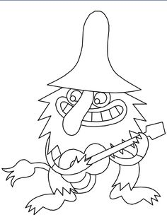 Trolls 10 Fantasy Coloring Pages Book