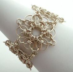You Are My Shining Star Chainmaille Bracelet by unkamengifts, $150.00