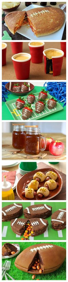 With a team composed of chocolate, pizza, booze and much more, these game day party recipes that are sure to score big at your next party!