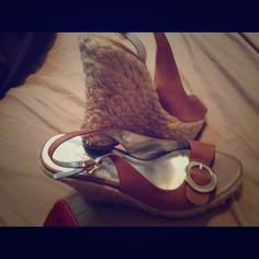 Jessica Simpson wedges Use but good conditions Jessica Simpson Shoes