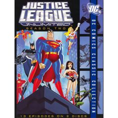 Justice League Unlimited: Season Two [2 Discs]