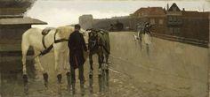 De Wagenbrug in Den Haag, Willem de Zwart, 1885 - 1895