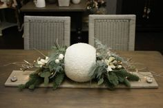Home Life - Workshops Christmas Diy, Christmas Decorations, Table Decorations, Art Floral, Diy Weihnachten, Christening, Montage, Home Decor, Blog