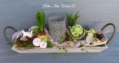 "Gesteck Frühling Ostern ""Frühlingszauber"" von Deko-Idee Eolion auf DaWanda.com"