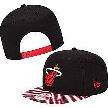 038ab750f6384c New Era Miami Heat Zubaz Snapback Hat Caps Game, Nba Store, Snap Backs,