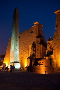 Temple - Luxor, Egypt I am so awed by photographs, I would well up with emotion in person, I'm sure! These treasures left by the ancients are so inspiring! #treasuredtravel