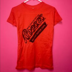 Reese's Peanut Butter Cup T-Shirt This shirt is new without tags and comes from a smoke free home. I don't swap, but I do discount bundles. Tops Tees - Short Sleeve