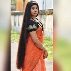 Long Silky Hair, Super Long Hair, Big Hair, Thick Hair, Bun Hairstyles For Long Hair, Braids For Long Hair, Indian Hairstyles, Long Hair Indian Girls, Indian Long Hair Braid