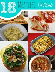 18 Meatless Meals Recipes | A Roundup for Lent
