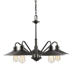 Casa 5 Light Old Bronze Chandelier - Z-Lite - 613-5-OB www.shopazteclighting.com/brand-z-lite