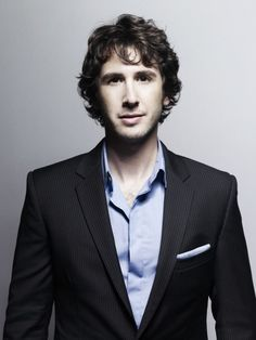 Josh Groban @Rikki Garcia every time I see this angel voiced man, I laugh a little.