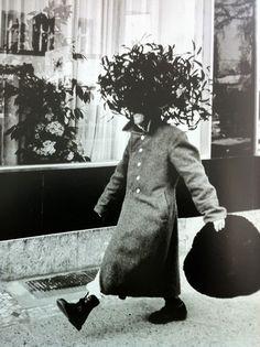 strange organic hat