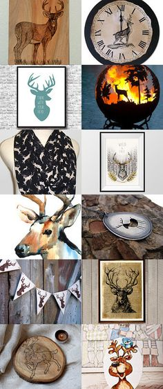 O Deer by Andrea Nyilas on Etsy--Pinned with TreasuryPin.com