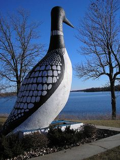 World's Largest Loon in Vergas, MN.